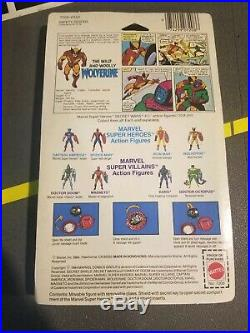 1984 Marvel SECRET WARS BLACK CLAWS WOLVERINE MOC MOSC Sealed RARE afa cas ready