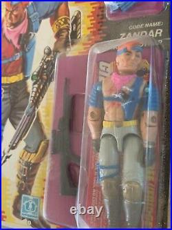 1986 GI JOE ARAH, Zandar, New NIB, RARE! Sealed Figure