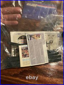 1986 GI Joe Tomahawk Open Box Sealed Contents Never Assembled Canadian Box Rare