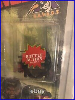 1986 Rambo Snakebite Action Figure New Sealed AFA Graded 80 Coleco RARE