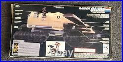 1989 GI Joe RAIDER ARAH Vehicle withFigure Hot Seat FACTORY SEALED NEW RARE