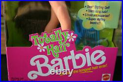 1991 Totally Hair Barbie Brun. Nrfb -sealed! -rare -no Sales Tax In Oregon