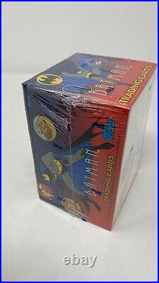 1993 TOPPS BATMAN THE ANIMATED SERIES MINT FACTORY SEALED BOX, Rare