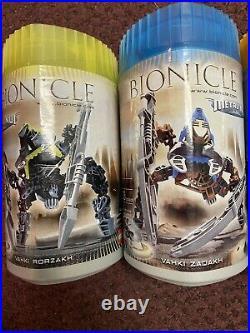 7 Rare LEGO Bionicle Toa Mata Sealed Set 8601 8614 8604 8606 8615 8617 8618