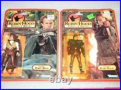 8 SEALED Rare ROBIN HOOD Figure Complete Lot Kenner 1991 Vintage Dark Warrior ++
