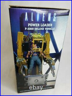 Aliens Deluxe Vehicle Power Loader P-5000 NECA Toys Collectible New Seales Rare