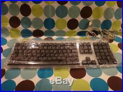 Apple Black USB Keyboard for Mac NEW RARE SEALED FACTORY PLASTIC M7803 M8732LL/A