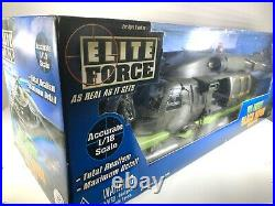 BBI Elite Force US Army Black Hawk Military 1/18 Helicopter Sealed NEW Rare