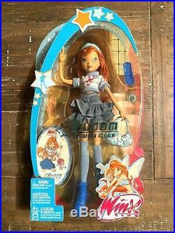 BLOOM of WINX CLUB Doll Mattel J1487 in Jean Skirt- Super Rare NEW Sealed
