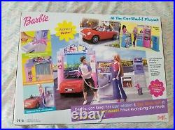 Barbie At The Car Wash Playset 2001 Rare Complete New In Box Sealed