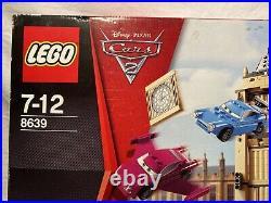 Cars 2 Lego Disney Pixar Factory Sealed (2011) 7 x Mini Figures (7-12 8639)