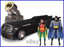 DC Collectibles Batman The Animated Series Deluxe Batmobile NEW SEALED (RARE)