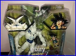 Dragon Ball GT Z Jakks Pacific Omega Goku 2-Pack Action Figure Rare Sealed SPF