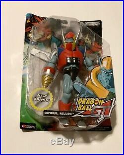 Dragon Ball Z GT New Sealed DBZ General Rilldo Figure Rare Armored Variant