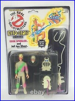 Ecto Glow Egon Spengler The Real Ghostbusters 1984 Kenner Moc Sealed Vintage