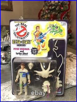 Ecto Glow Peter Venkman The Real Ghostbusters 1984 Kenner Moc Sealed Very Rare