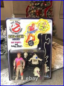 Ecto Glow Ray Stantz The Real Ghostbusters 1984 Kenner Moc Sealed Un-punched