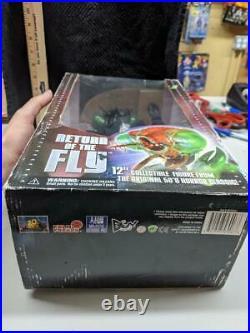 Film Freaks, Majestic Studios -RARE Return of the Fly 12 Sealed Box Figure 2003