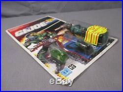 GI Joe 1990 COBRA NIGHT-VIPER with PERSUADER Mini Vehicle MOC Factory Sealed RARE