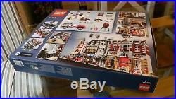 Genuine Lego Fire Brigade Station 10197 rare NEW sealed