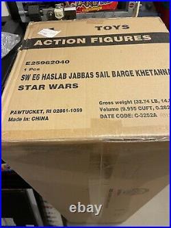 HASLAB Star Wars Jabba's Sail Barge The Khetanna SEALED! RARE