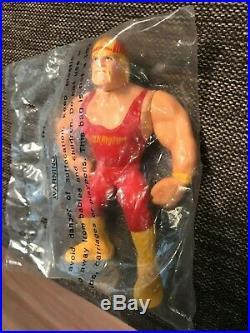 Hasbro WWF WWE Hulk Hogan Mail order limited in Sealed Bag 1993 Unopened Rare