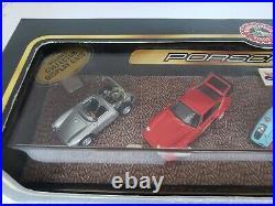 Hot Wheels PORSCHE 50th ANNIVERSARY 4 PC SET 1998 RARE SEALED (1st Run Tool)