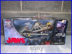 JAWS RARE 2001 McFarlane Movie Maniacs Series 4 Diorama Box Set New with Defects