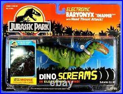 Jurassic Park Dino Screams Electronic Baryonyx 1994 Moc Rare