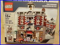 LEGO (10197) Creator Expert Fire Brigade Brand New In Sealed RARE RETIRED
