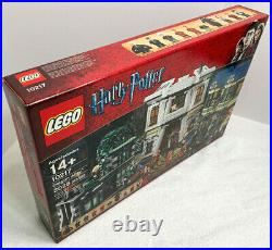 LEGO 10217 Harry Potter Diagon Alley New Factory Sealed Box Rare Discontinued