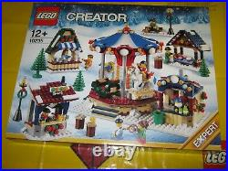 LEGO 10235 WINTER VILLAGE MARKET RARE RETIRED SET from 2013 BRAND NEW SEALED #A