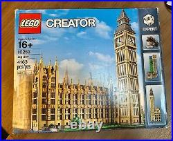 LEGO 10253 / CREATOR Expert / Big Ben / New Factory Sealed Box / Retired / RARE