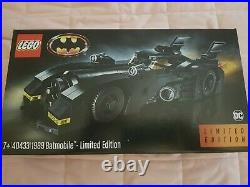 LEGO 40433 1989 Batmobile Rare LIMITED EDITION Brand New & Factory Sealed
