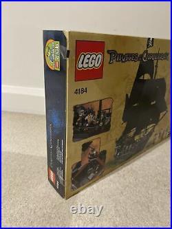 LEGO 4184 Pirates of the Caribbean The Black Pearl Brand New & Sealed Rare