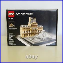 LEGO Architecture 21024 Louvre Paris NEW SEALED Retired Rare