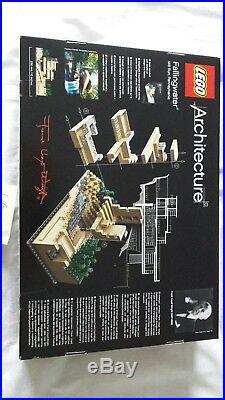 LEGO Architecture Fallingwater 21005 New Sealed, Retired Set rare