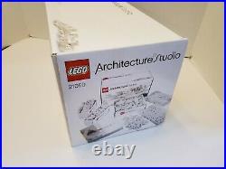 LEGO Architecture Studio (21050) 100% Complete! SEALED BAGS! RARE! Open Box