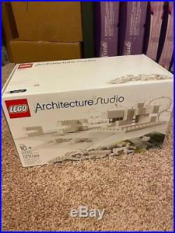 LEGO Architecture Studio (21050) Building Set RETIRED RARE New Double Sealed