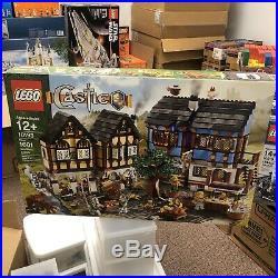 LEGO Castle Medieval Market Village 10193 Town Square Set New RARE Sealed MISB