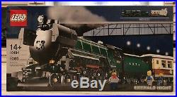 LEGO City Creator 10294 Emerald Night Train New Sealed in Box- Retired Rare