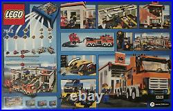 LEGO City Garage (7642) New in Box Rare & Retired Factory Sealed