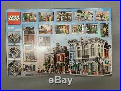 LEGO Creator Expert Brick Bank Set 10251 New in Sealed Box in hand rare