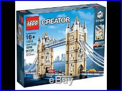 LEGO Creator Rare Tower Bridge 10214 New & Sealed
