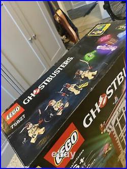 LEGO Ghostbusters Firehouse Headquarters (75827) 4634 Pcs, Rare, Sealed