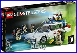 LEGO Ideas CUUSOO Rare Ghostbusters Ecto-1 21108 New & Sealed