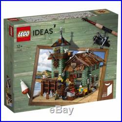 LEGO Ideas Super Rare Old Fishing Store 21310 New & Sealed