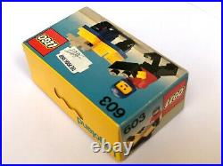 LEGO Legoland 603 Motorbike NEW Sealed Vintage RARE Classic Town from 1978