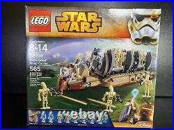 LEGO Star Wars 75086 Battle Droids Troop Carrier Rare Sealed 2015 Set New in Box