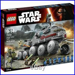 LEGO Star Wars Clone Wars Rare 75151 Clone Turbo Tank New & Sealed